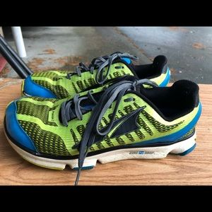 Altra Provision 2 Men' Lime/Blue Sneakers Size 9